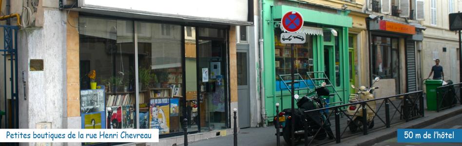 Rue Henri Chevreau - Ménilmontant